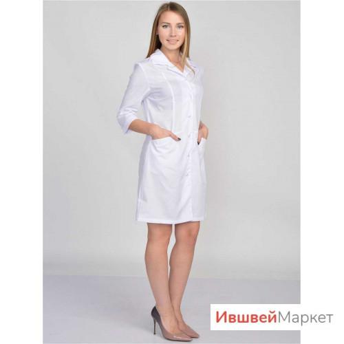 Халат медицинский женский М-18, тиси