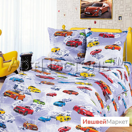 "КПБ 1,5 сп Автомир, ТМ ""Ноктюрн"""