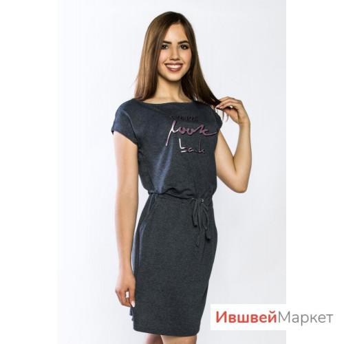 """Туника """"Образ"""" антрацит"""