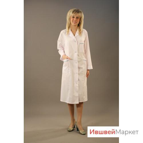 Халат медицинский женский М-5/1 - тиси